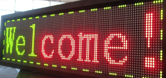 LED display marketing